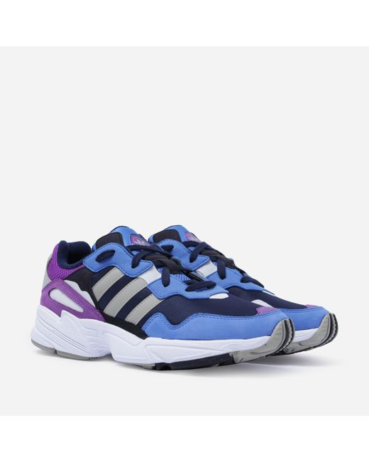 Adidas Originals - Blue Yung 96 for Men - Lyst ... 1d6701682
