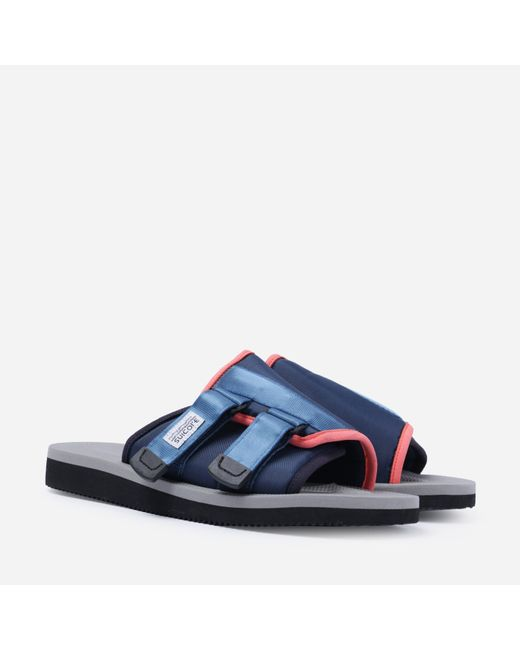 Suicoke Blue Kaw Cab Sandles for men