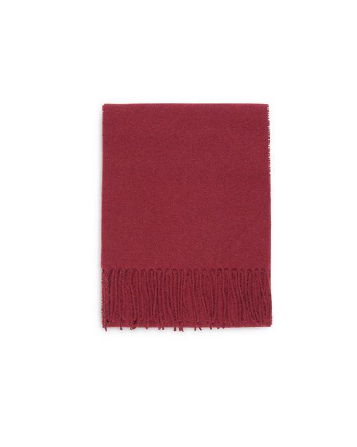 Norse Projects | Norse X Johnstons Lambswool Scarf Red Clay for Men | Lyst