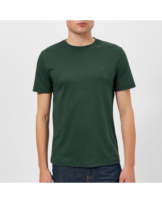 Michael Kors - Green Sleek Crew Neck T-shirt for Men - Lyst