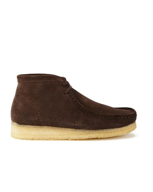 Clarks | Brown Men's Wallabee Boots for Men | Lyst