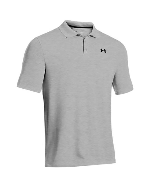 Under Armour - Gray Performance Polo Shirt 2.0 for Men - Lyst