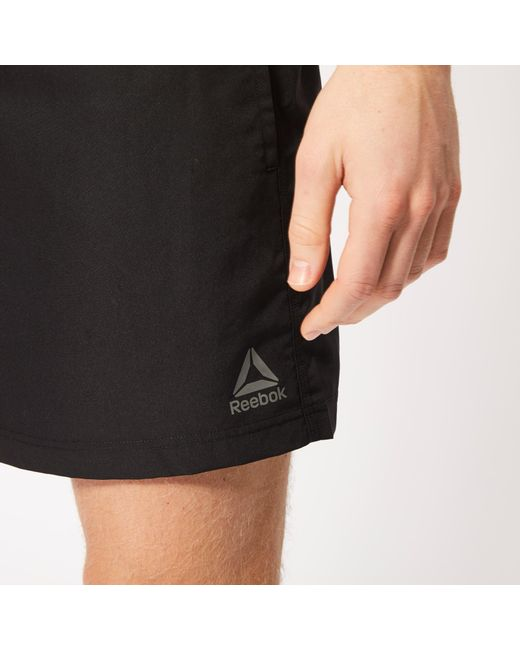 91564f0ef3 ... Reebok - Black Swim Basic Boxer Shorts for Men - Lyst
