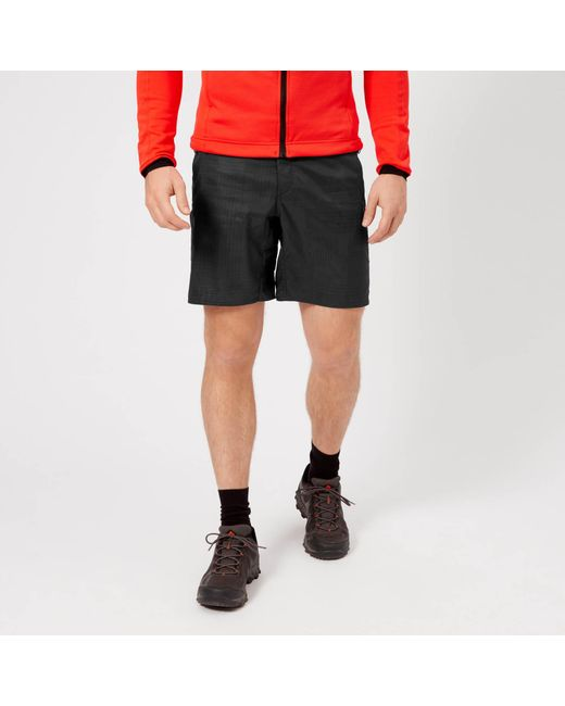 Adidas - Gray Mountain Fly Aop Shorts for Men - Lyst