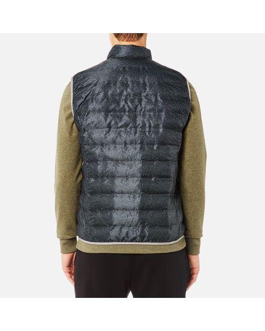 9f09b016fad3a ... Michael Kors - Blue Heat Seal Vest for Men - Lyst ...