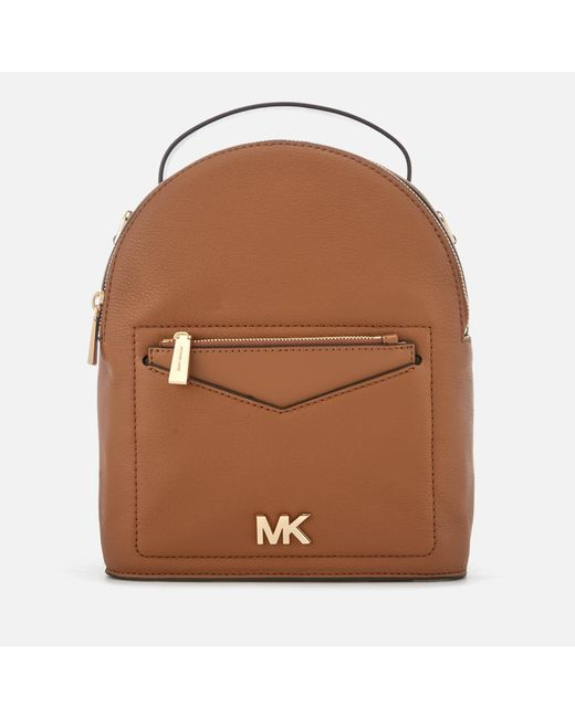 MICHAEL Michael Kors - Brown Jessa Small Convertible Backpack - Lyst