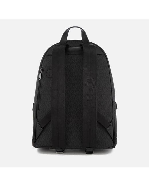 c33c2c6b571c cheap michael kors black jet set logo backpack for men lyst 8cfce f4095