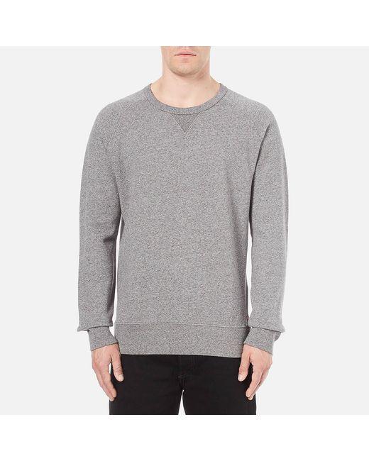 Levi's - Gray Original Crew Neck Sweatshirt for Men - Lyst