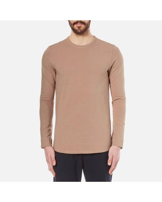 SELECTED - Pink Sam Crew Neck Sweatshirt for Men - Lyst