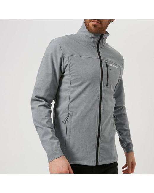 120c8051f4db Columbia - Gray Heather Canyon Hoodless Jacket for Men - Lyst ...