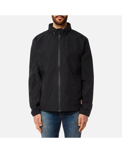 Hunter - Blue Original 3 Layer Blouson Jacket for Men - Lyst