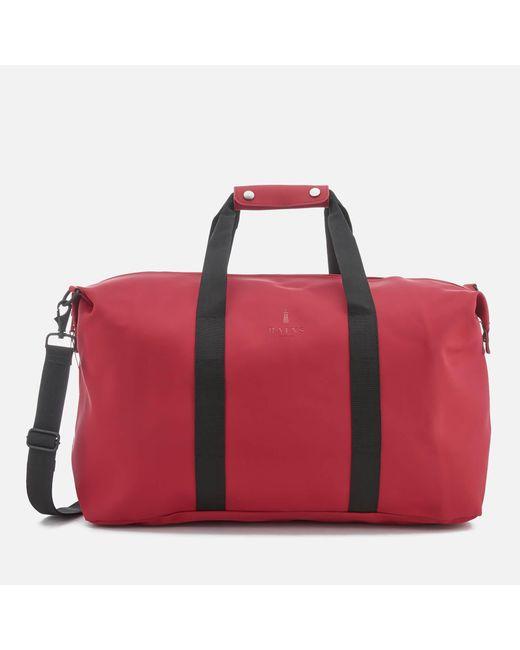Rains - Red Weekend Bag - Lyst