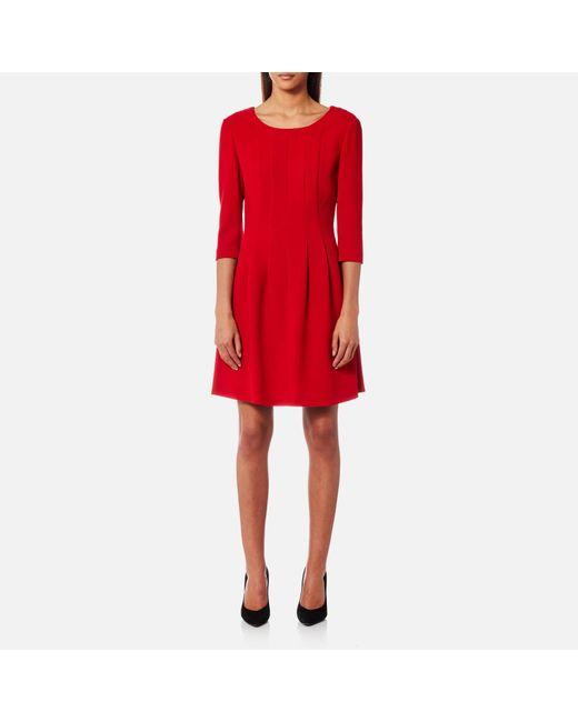 BOSS Orange - Red Aloky Dress - Lyst