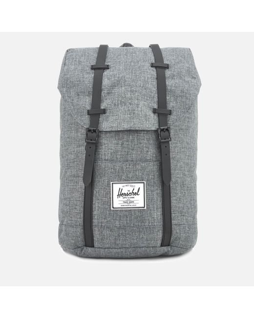 Herschel Supply Co. - Gray Retreat Backpack for Men - Lyst