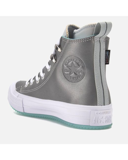 ca960573dab ... Converse - Gray Chuck Taylor All Star Waterproof Boots - Lyst ...