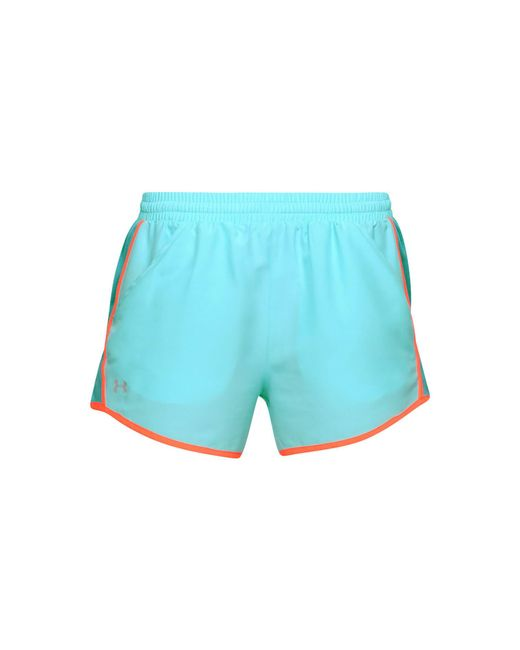 Under Armour - Blue Fly By Shorts 2.0 - Lyst