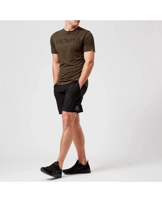 49a97644d5ce ... Reebok - Black Crossfit Speed Pro Shorts for Men - Lyst ...
