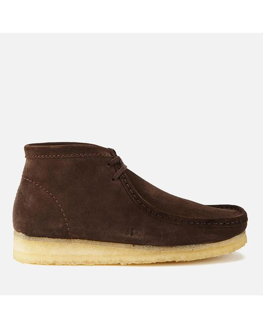 Clarks - Brown Men's Wallabee Boots for Men - Lyst