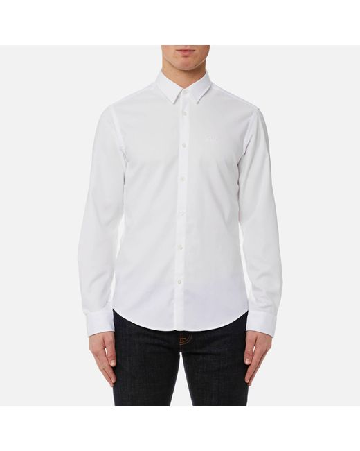 BOSS Green | White C Buster Shirt for Men | Lyst