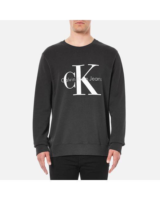 CALVIN KLEIN 205W39NYC - Black 90's Re-issue Sweatshirt for Men - Lyst