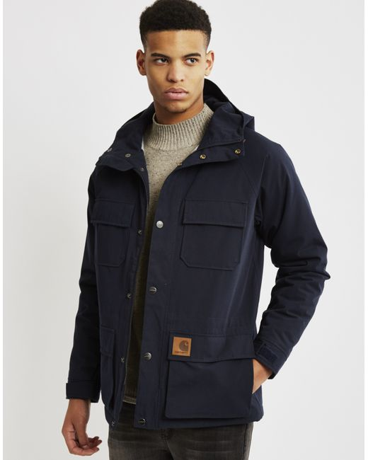 Carhartt WIP | Blue Mosley Jacket Navy for Men | Lyst
