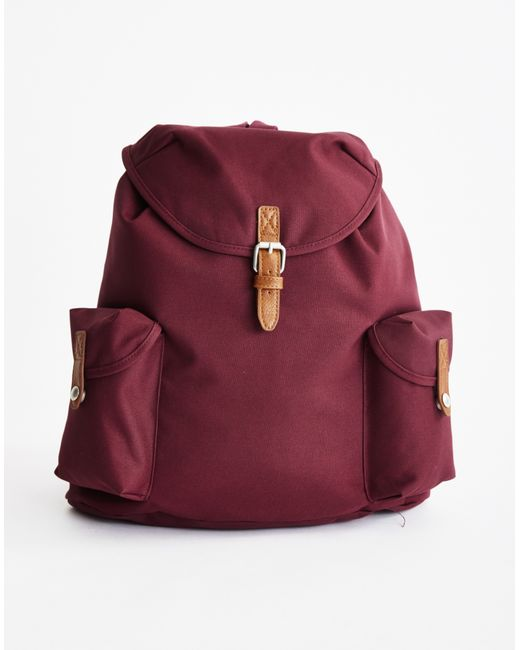 The Idle Man | Purple Vintage Rucksack Burgundy for Men | Lyst