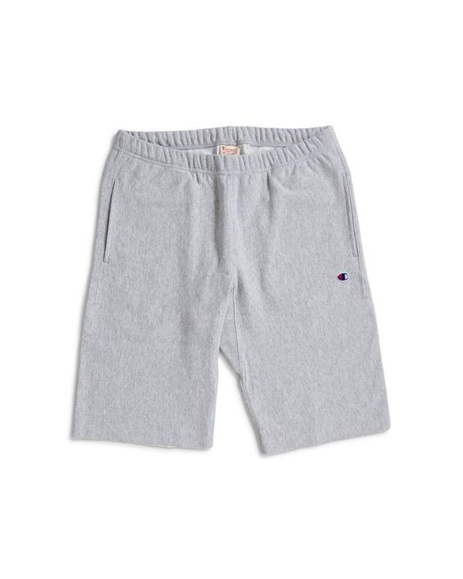 Champion - Gray Sweat Shorts Grey for Men - Lyst