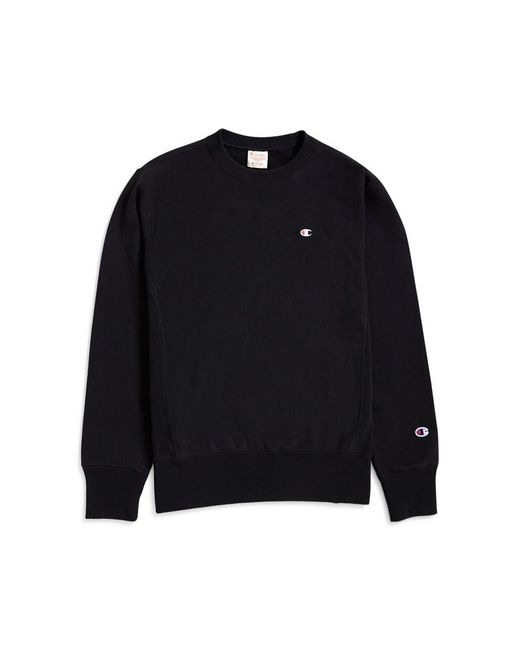 Champion - Classic Reverse Weave Sweatshirt Black for Men - Lyst