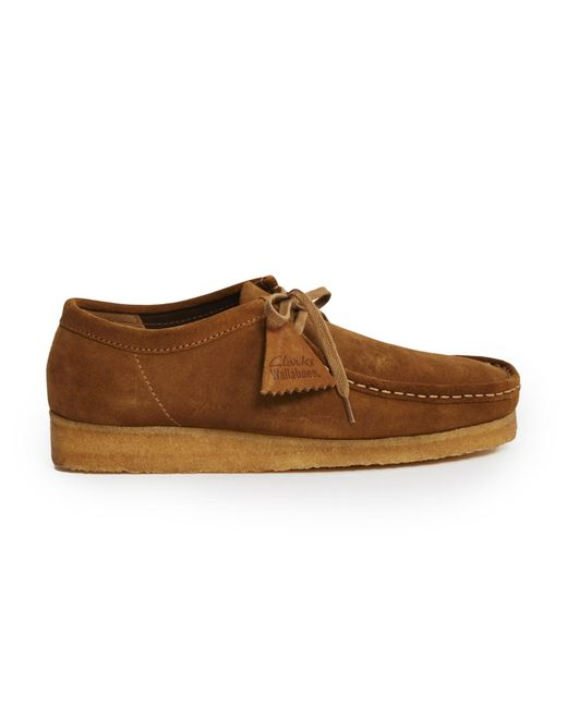 Clarks | Clarks Original Wallabee Suede Shoes - Brown for Men | Lyst