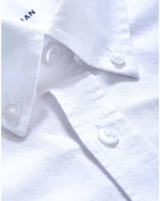 7720c3d234 ... The Idle Man - Relaxed Modern Fit Oxford Shirt White for Men - Lyst