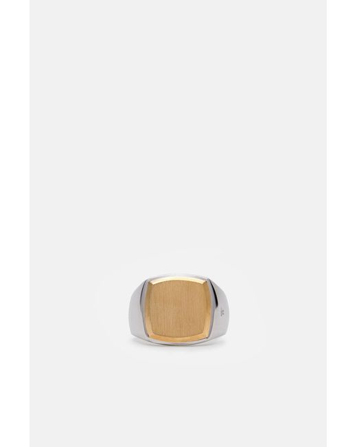 Tom Wood - Metallic Cushion Gold Top Ring - Lyst