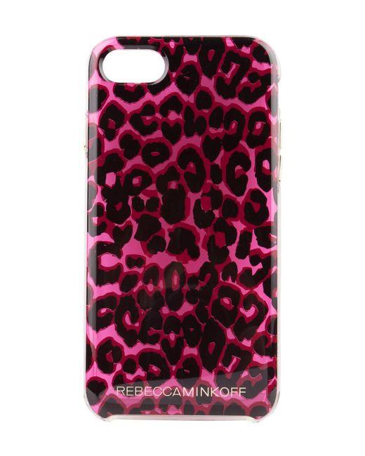 Rebecca Minkoff | Brown Leopard Print Case Iphone 7 | Lyst