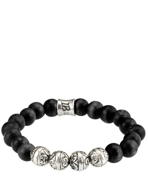Icon Brand | Black Bracelet Krakatoa | Lyst