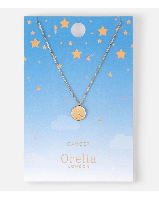 Orelia | Metallic Cancer Constellation Necklace | Lyst