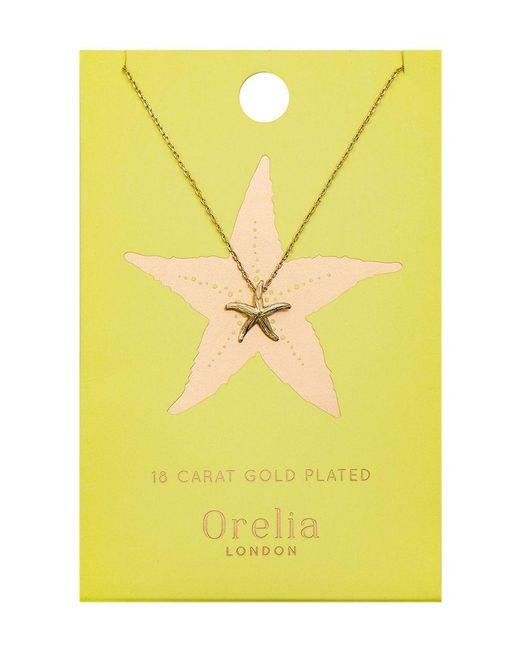 Orelia | Metallic Starfish Ditsy Necklace | Lyst