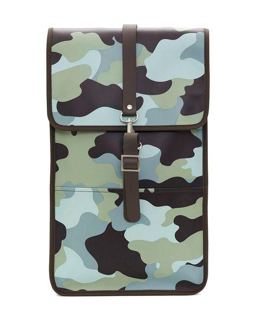 Rains - Blue Aop Backpack - Lyst