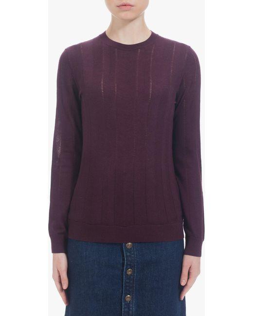 A.P.C. - Purple Montagne Sweater - Lyst