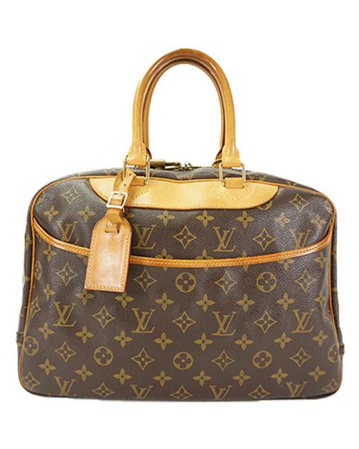 caa0b344ed0a Louis Vuitton - Brown Monogram Canvas Deauville Bag - Lyst ...