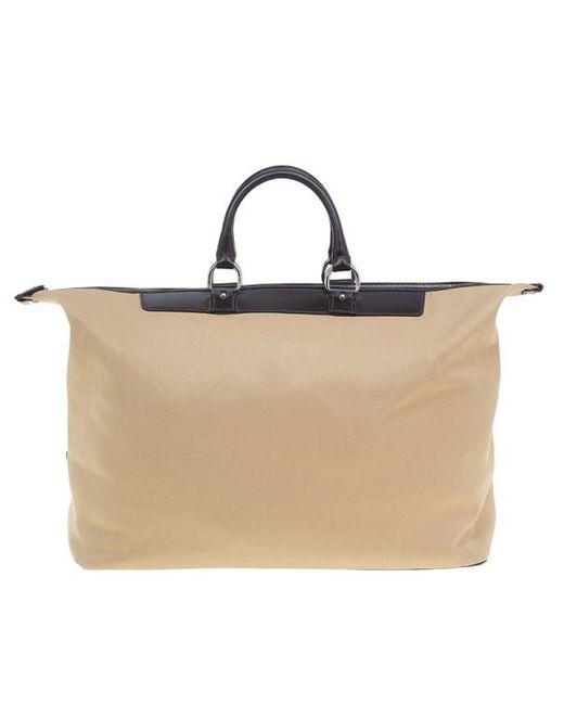 Fendi - Natural Beige Canvas Selleria Large Luggage Bag - Lyst ... f8e3f24c4ca19