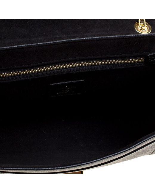 Lyst Louis Vuitton Monogram Empreinte Leather St Germain Pm Bag In