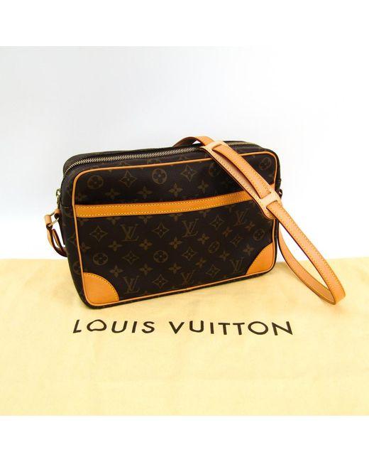 9183bfd27bad ... Louis Vuitton - Brown Monogram Canvas Trocadero 30 Bag - Lyst ...