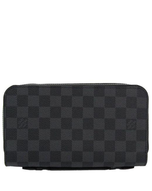 082309a18103 Louis Vuitton - Multicolor Damier Graphite Canvas Zippy Xl Wallet for Men -  Lyst ...