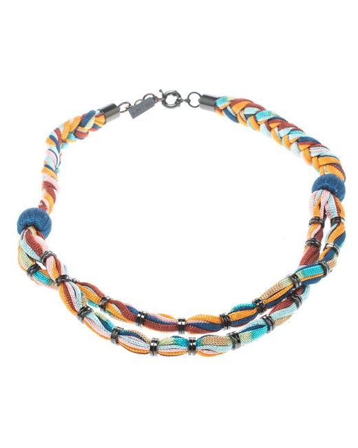Missoni - Multicolor Double Rope Braided Necklace - Lyst