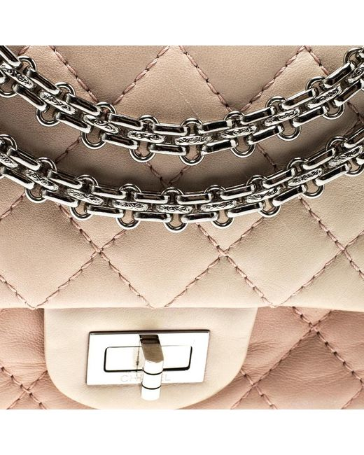 3a82e1088b5f82 ... Chanel - Multicolor Quilted Leather Reissue 2.55 Classic 225 Flap Bag -  Lyst ...