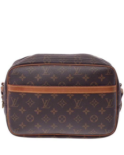 8ff70879fd97 Louis Vuitton - Brown Monogram Canvas Reporter Pm Bag - Lyst ...
