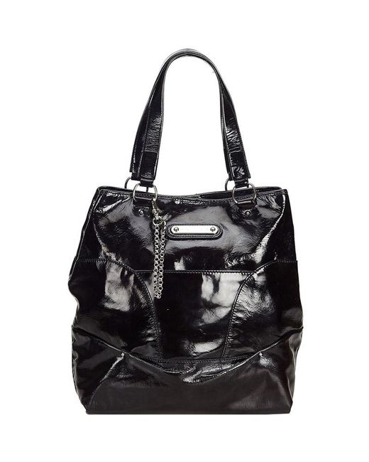 9a11e4cb2b Céline - Black Patent Leather Tote Bag - Lyst ...