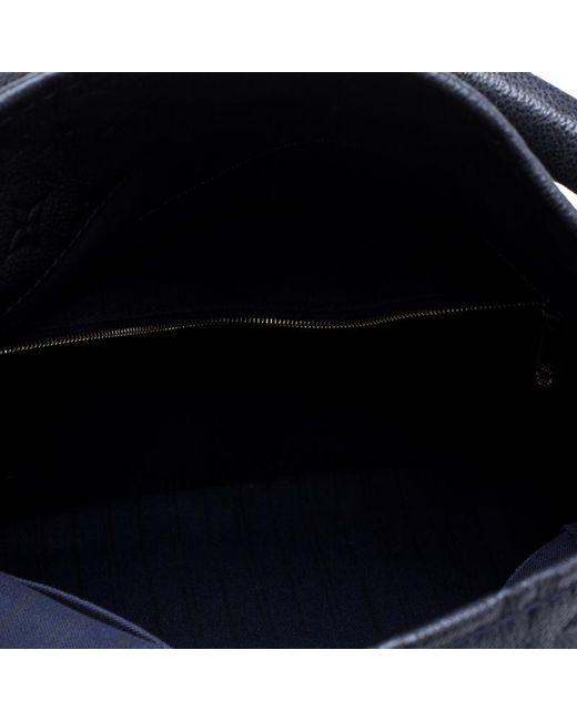 f198a0d366d18 ... Louis Vuitton - Blue Bleu Infini Monogram Empreinte Leather Artsy Mm  Bag - Lyst ...
