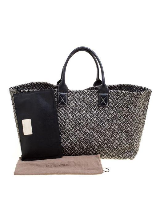 9f785f3a6258 ... Bottega Veneta - Gray Dark Woven Leather Large Limited Edition 053 500 Cabat  Tote ...