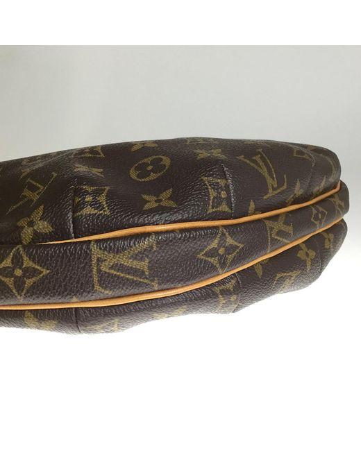 e1a6ad5c94b3 ... Louis Vuitton - Brown Monogram Canvas Croissant Mm Bag - Lyst