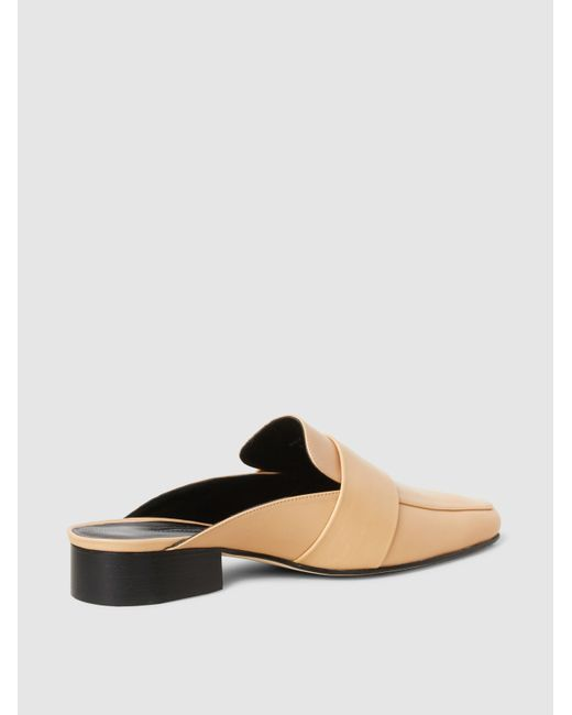 DORATEYMUR Filiskye Open-Back Leather Mules